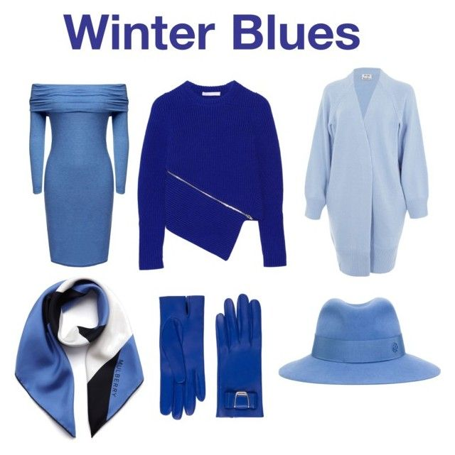 """Winter blues"" by misstoitty on Polyvore featuring Acne Studios, Mulberry, Maison Michel, Bally, Alexander Wang, women's clothing, women, female, woman and misses"