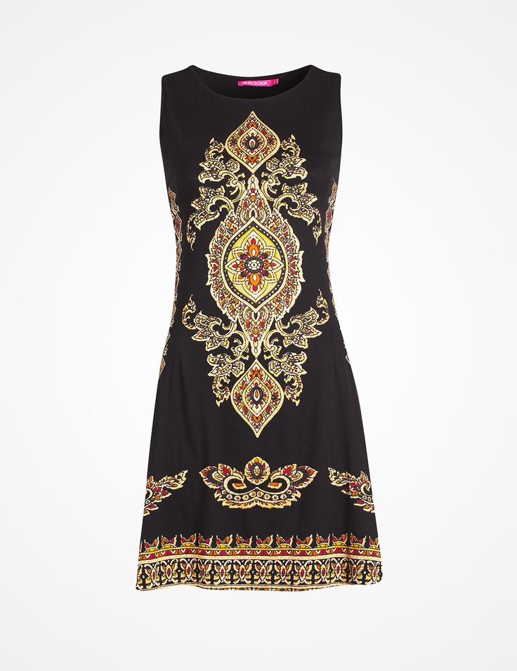 Bohemian dress by INDISKA