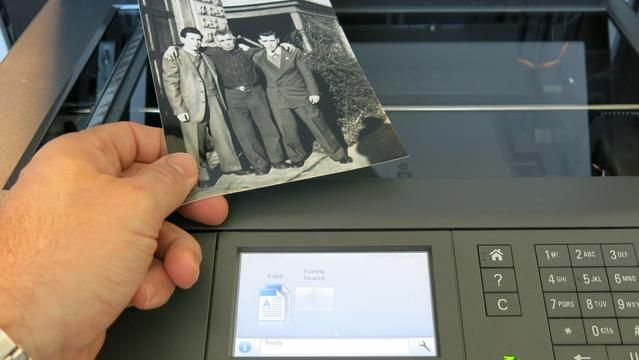 FamilySearch Scanner