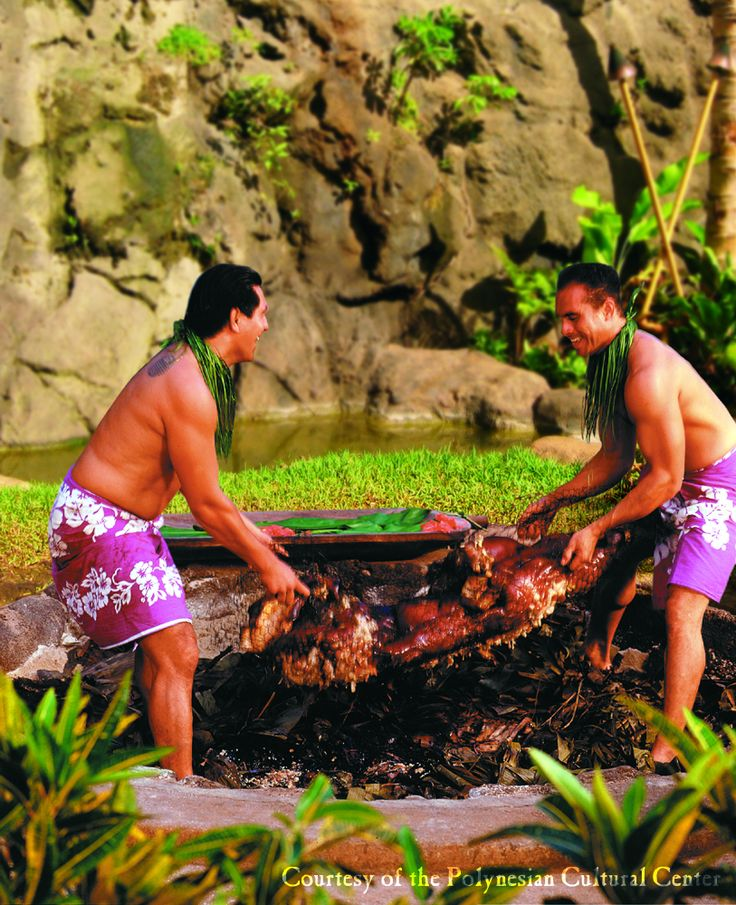 Imu Ceremony, Polynesian Cultural Center, Oahu
