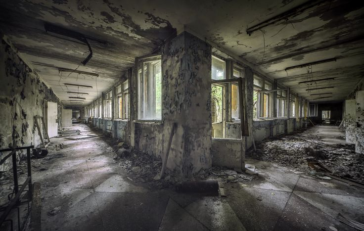 school corridor - #abandoned #urbex #decay #photography #image #mrnorue #derelict #neglect