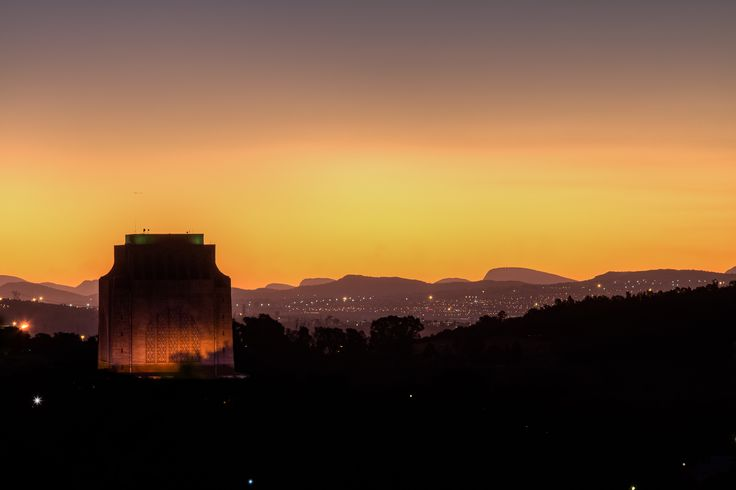 """Voortrekker Monument at Sunset"" has been published on Pascal Parent Photos  More information at http://wp.me/p4WBG2-m0 Photo 9 the 2016 Collection With the coming Pretoria wide-angle photowalkI thought it would be wise to scout the area and make sure everything was accessible, that there is enough subject matter to shoot and that we can get the sunset! It would have been nice to have clouds as clouds make for better sunsets but this image of the monument speaks for itself,"