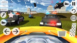 Best Games Apps For Android Mobile: Android Game Extreme Car Driving Racing 3D v3.7 Apk