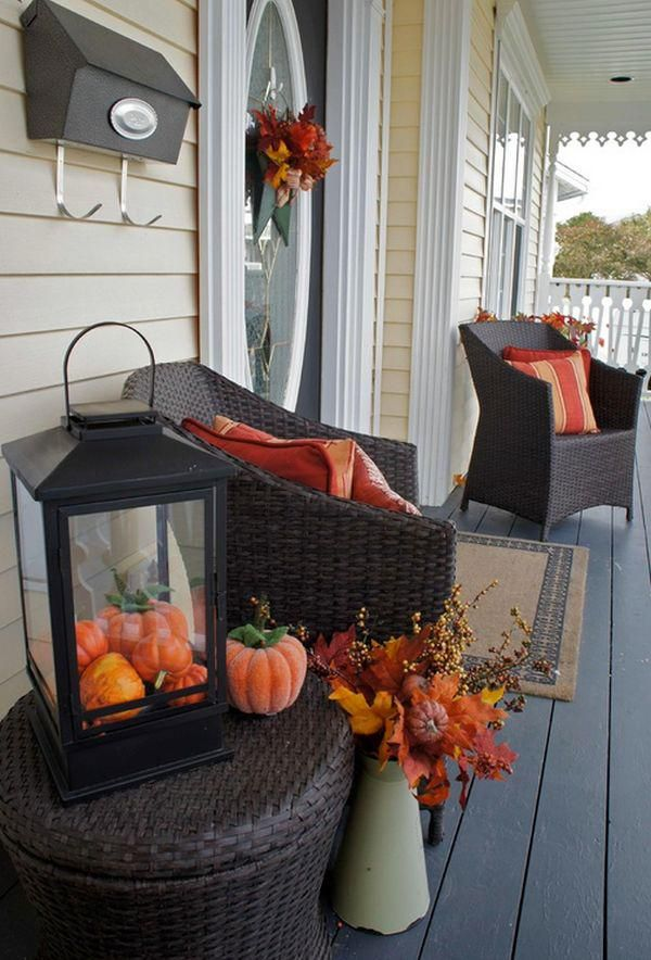 109 best minimalist fall decorating ideas interior images on ... - Patio Halloween Decorating Ideas