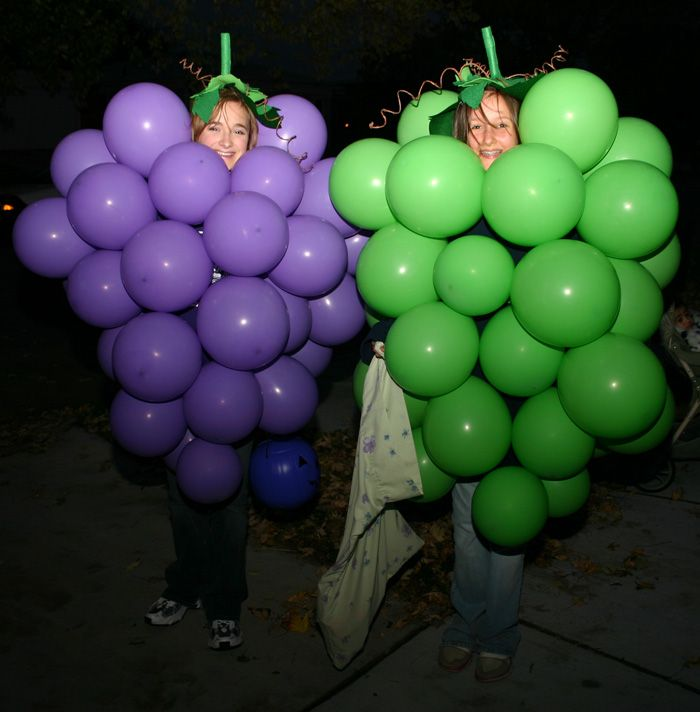 How to make a grape costume with balloons | Crafts | Pinterest ...