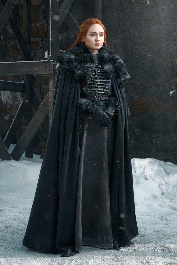 Sansa Stark Ready To Ship Dress Halloween Costume For Adult