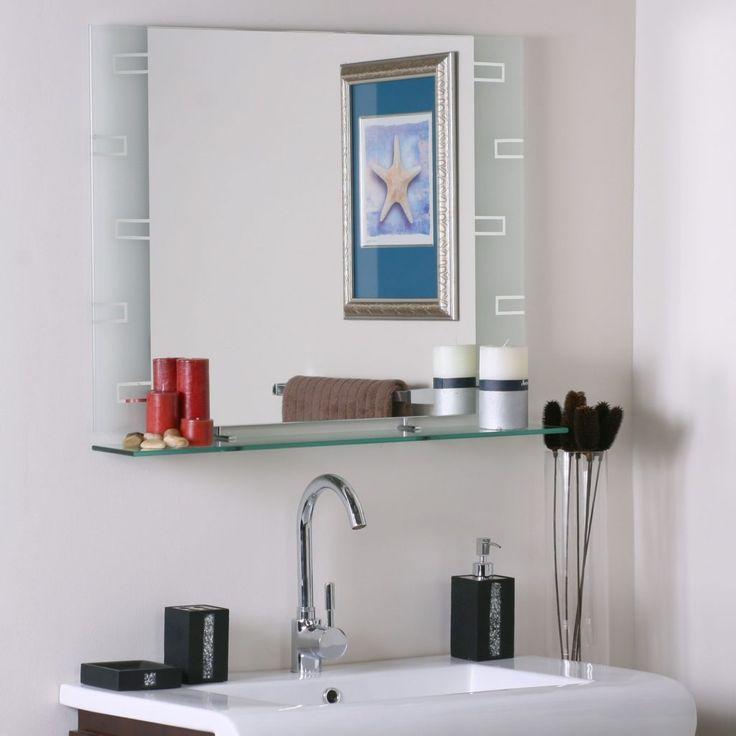 25+ Best Ideas About Bathroom Mirror With Shelf On Pinterest