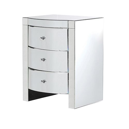 DANILO MIRRORED BEDSIDE