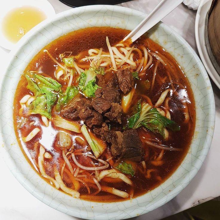 香辣牛肉面 @Gu Yi Wan - #guyiwan #kanzaichi #foodinshanghai https://www.instagram.com/p/BTjMf0YDsWL/