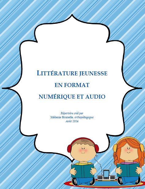 Répertoire de livres électroniques offerts gratuitement sur Internet. En plus des textes numériques, le document inclut des versions en format audio.