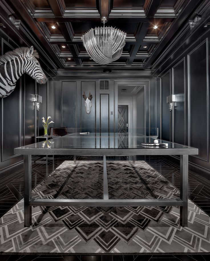 Is that a lucite ping pong net? glam! Royalton   Ryan Street & Associates
