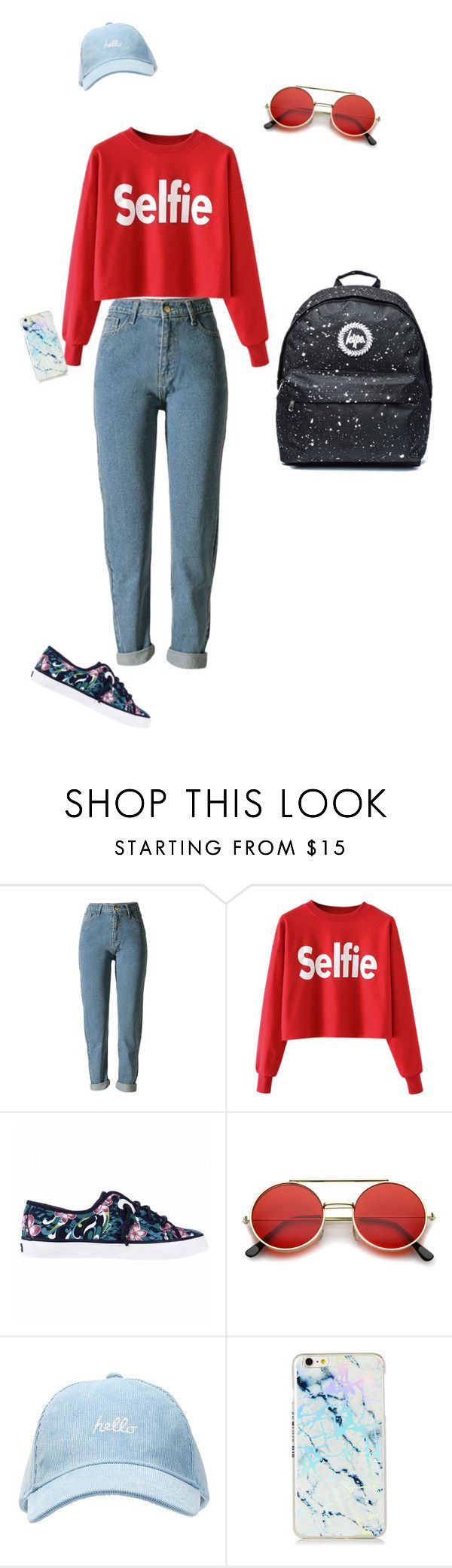 """""""Untitled #862"""" by beauty-lays-within on Polyvore featuring Sperry, ZeroUV, simple, fashionista, casualoutfit and 2017"""