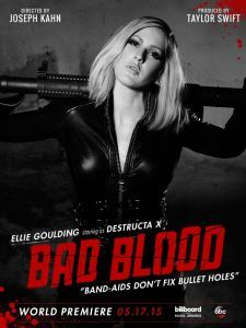 """Veja os bastidores da participação de Ellie Goulding no clipe de """"Bad Blood"""", de Taylor Swift #Bad, #Cantora, #Clipe, #Hoje, #Nome, #ShakeItOff, #Single, #Sucesso, #TaylorSwift, #Vídeo http://popzone.tv/veja-os-bastidores-da-participacao-de-ellie-goulding-no-clipe-de-bad-blood-de-taylor-swift/"""