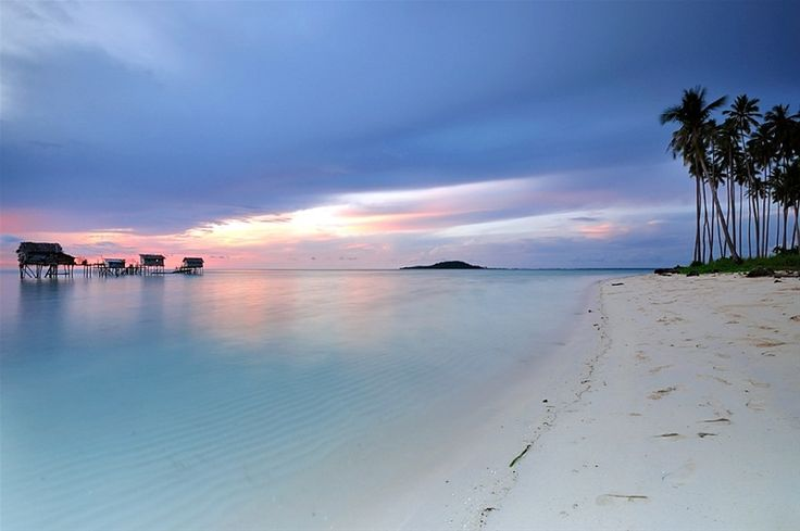 Maiga Island at Semporna Sabah Borneo