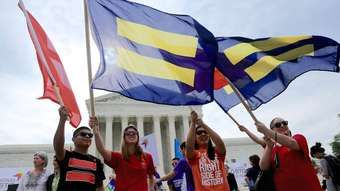 Gay marriage legalized across the US by Supreme Court