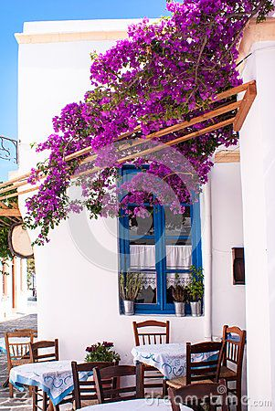 Traditional greek alley on Sifnos island by Zoipap,