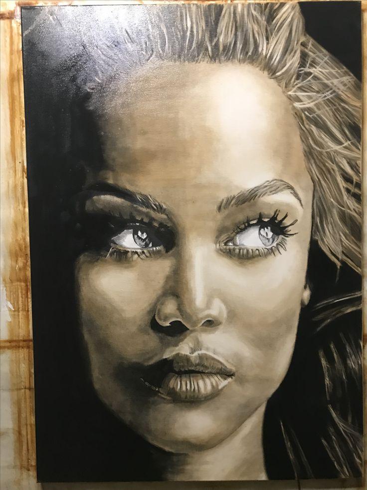 Tyra Banks 70*100cm