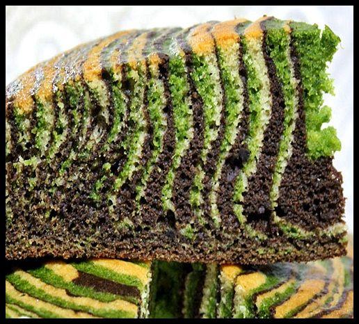 ıspanaklı zebra kek