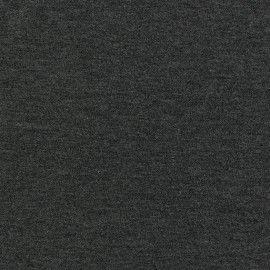 Tissu jersey léger gris chiné x 10cm