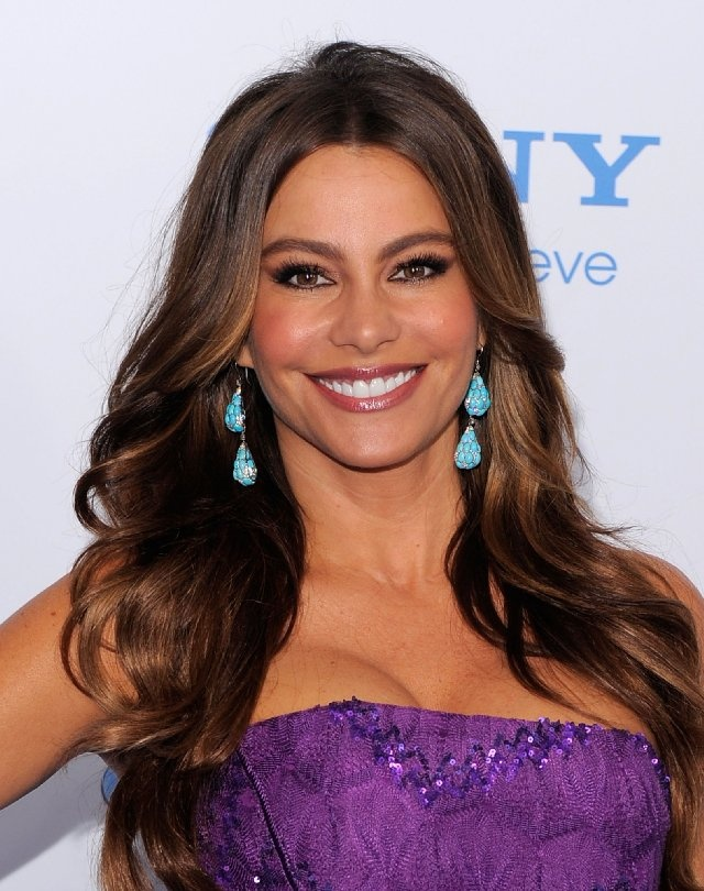 Sofia Vergara- She's gorgeous but she's also a terrific comedic actress who's not afraid to look silly