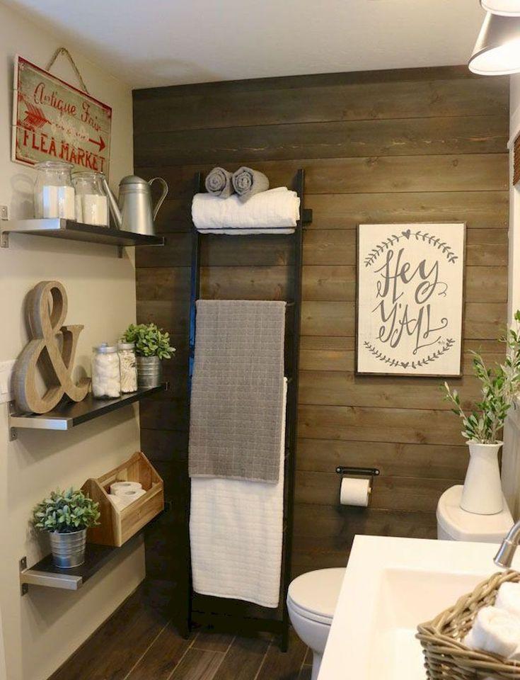 ideas for bathrooms decorating%0A     Spectacular Farmhouse Bathroom Decor Ideas