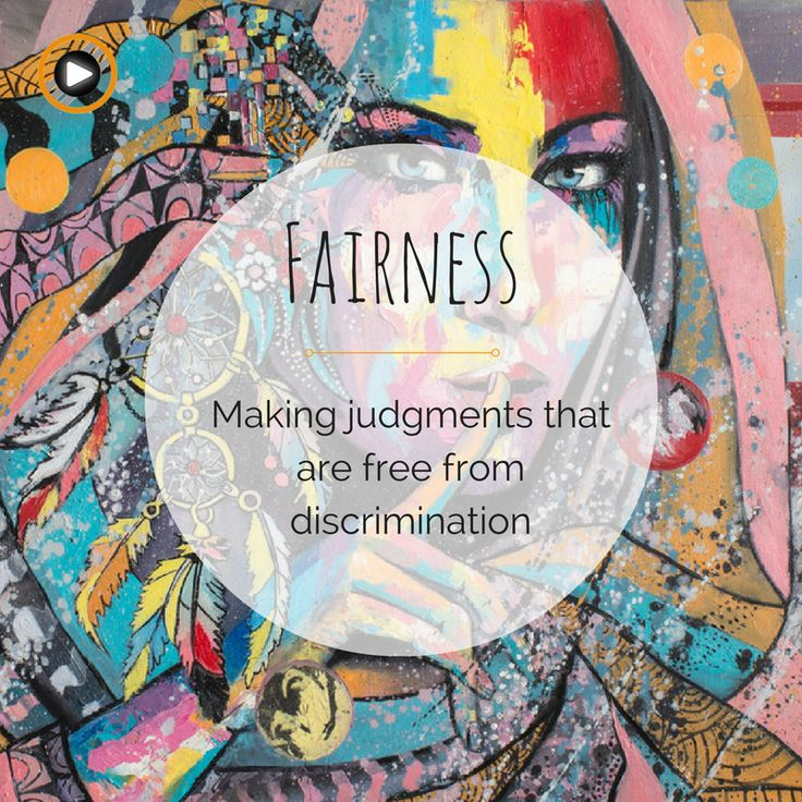 What is Fairness for you? #definition #fairness #consciousness