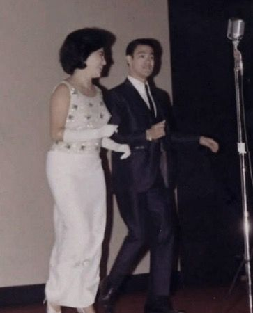 Bruce Lee in his dancing days