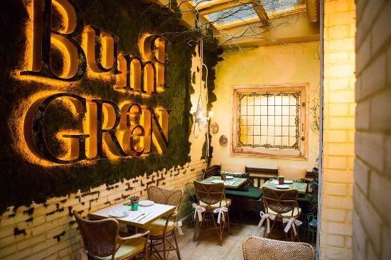 Bump Green en Madrid, Slow Food