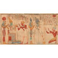 THE TEMPLE OF SETI I AT ABYDOS Amice Calverley's Record of the Temple of Seti I.