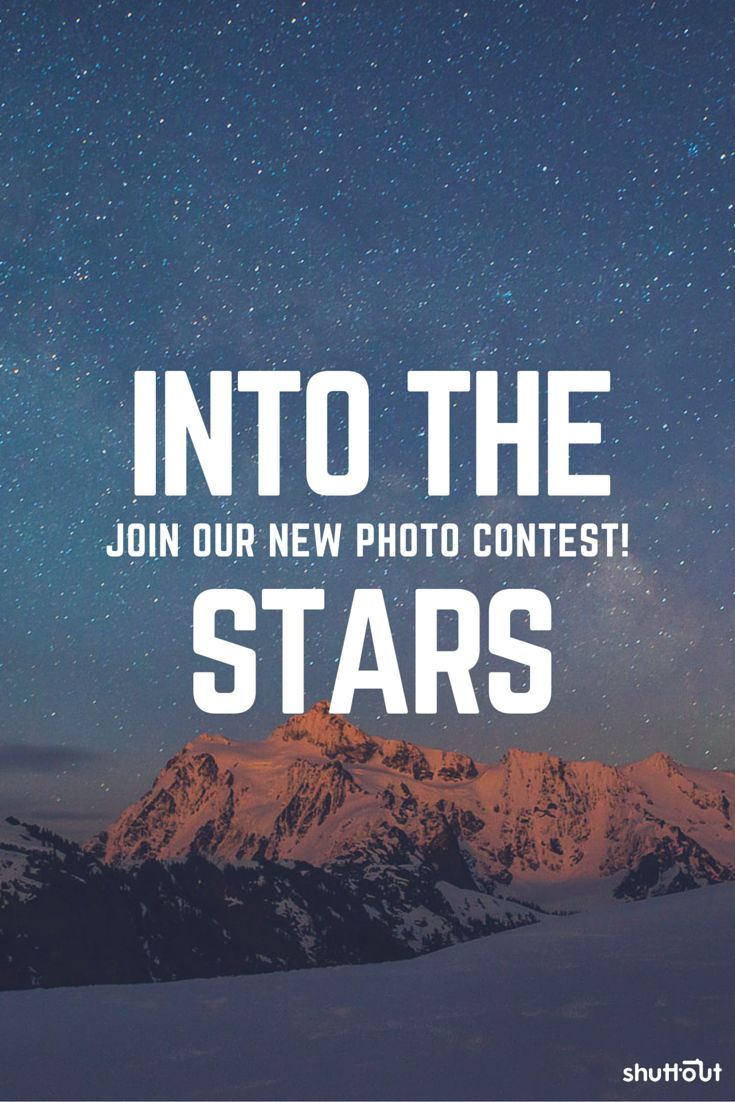 Got some amazing #photos of the #stars? #perseides maybe? Join our #shuttout #photo #contest for FREE.  #night #sky #meteor #competition #contests #photography #challenge #skies #nightsky