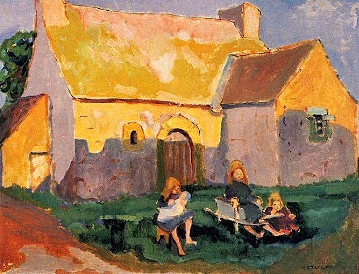 Emily Carr - Breton Church