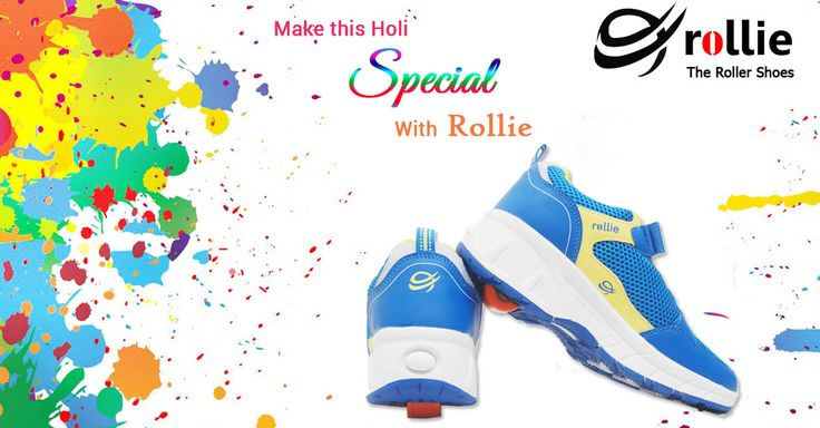 Make This ‪#‎Holi‬ Special With ‪#‎Rollie‬