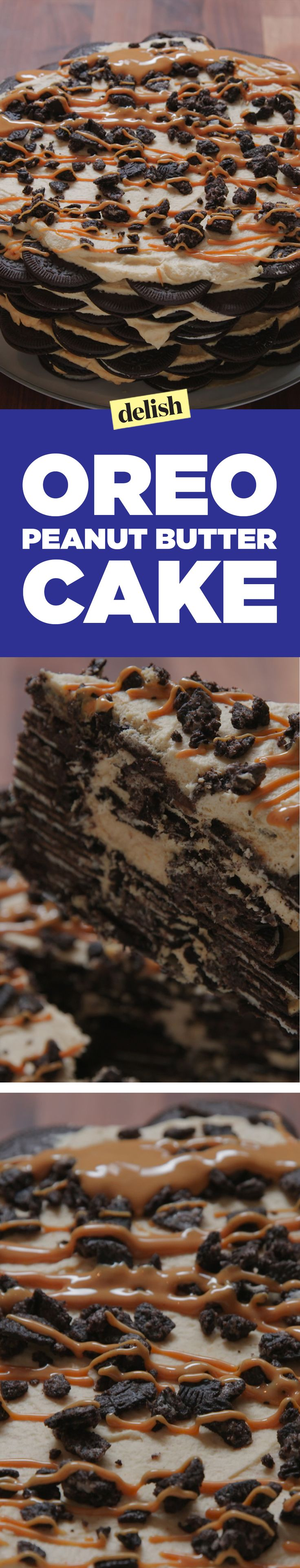 This Oreo peanut butter cake is layers upon layers of pure deliciousness. Get…