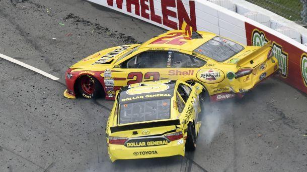 #NASCAR  #motors  #MOTORSPORTS    NASCAR feud Matt Kenseth taught Joey Logano handling Kyle Busch   NASCAR Talk