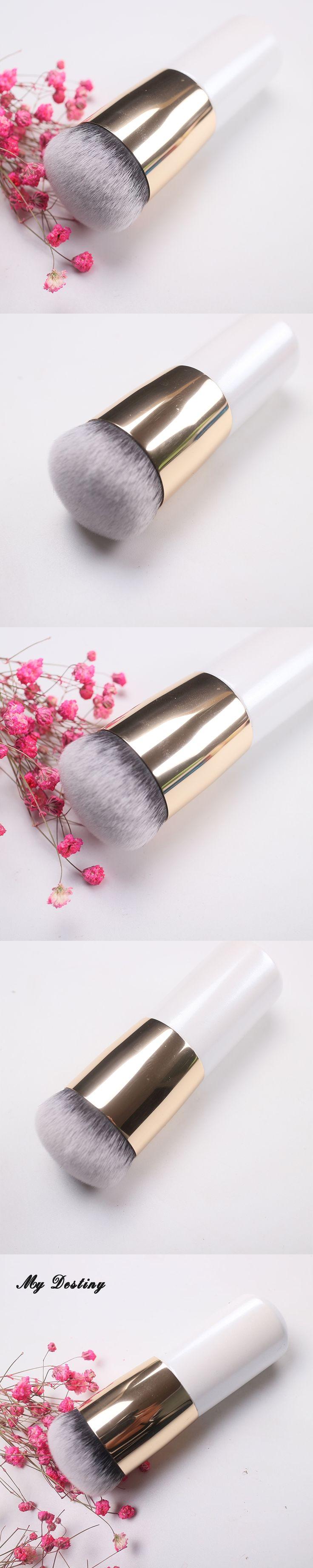 MY DESTINY White Rainbow Kabuki Foundation Brush Make Up Makeup Brushes Kwasten Base Pincel Maquiagem Brochas Maquillaje