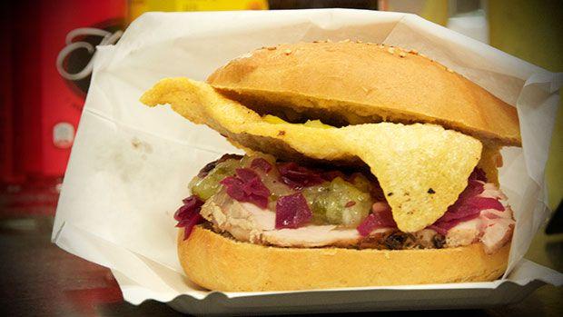 Flæskestegs-sandwich - den ultimative