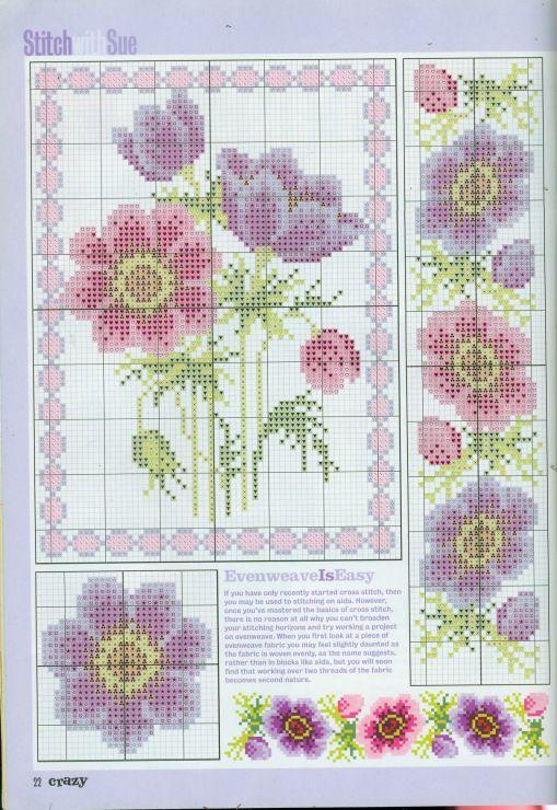 Gallery.ru / Фото #30 - разные цветочные схемы - irisha-ira