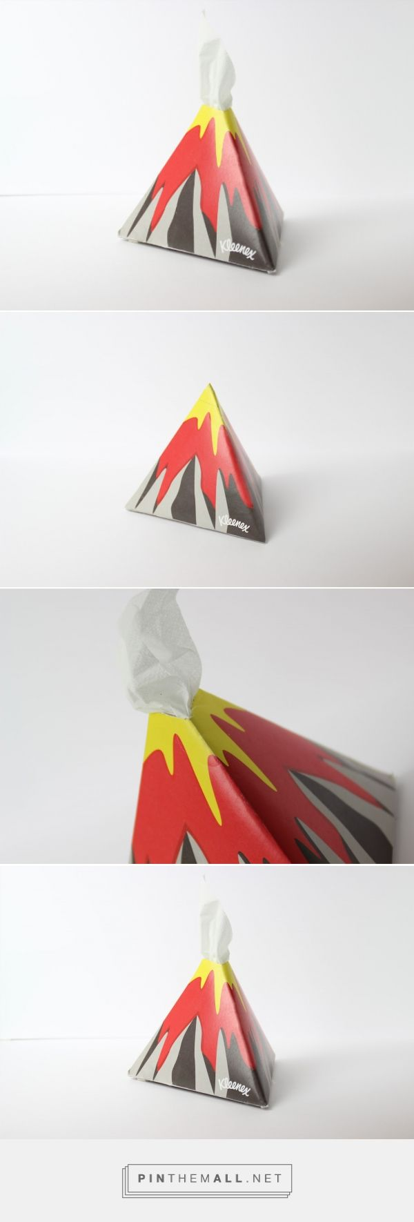 Tissues' Explosion packaging design by Myrto Lazaridou - http://www.packagingoftheworld.com/2018/01/tissues-explosion.html