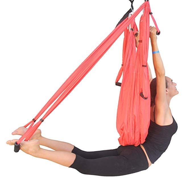 Amazon.com : Wing Yoga Swing - Antigravity Yoga Hammock with Straps Daisy  Chain - Red : Sports & Outdoors | Yoga swing, Aerial yoga, Yoga trapeze