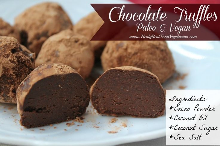 These chocolate tuffles (paleo & vegan) are the perfect thing to wrap up in a nice tin and give out to friends and family!