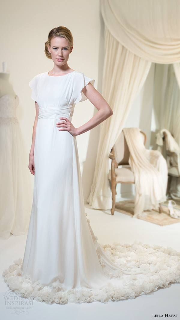 weddinginspirasi:  Leila Hafzi Wedding Dress 2016 Bridal Collection