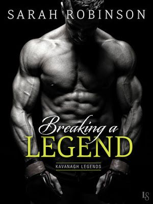Book Magic - Under a spell with every page: REVIEW: BREAKING A LEGEND by SARAH ROBINSON