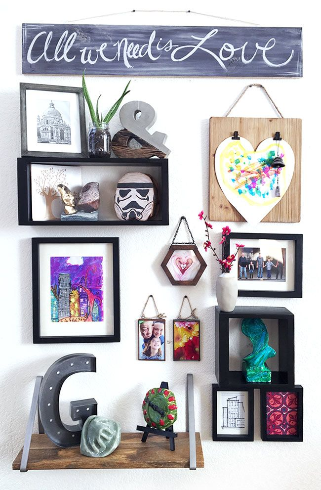 Create Your Own Wall Gallery