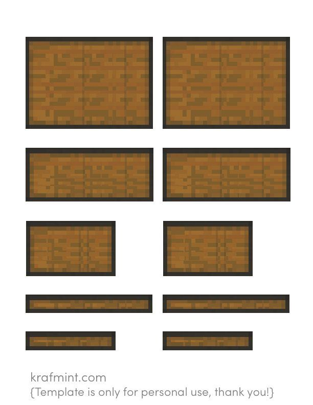 Minecraft Chest Tutorial Make A Minecraft Chest With A Small Wooden Box And Downloadable T Minecraft Valentines Box Minecraft Valentines Boys Valentines Boxes
