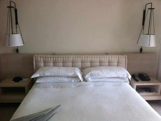 French pillow headboard my home pinterest pillow for Headboard made pillows