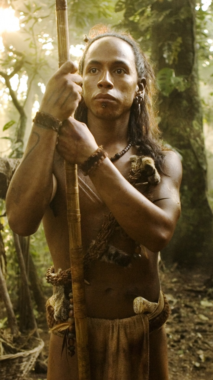 "Rudy Youngblood plays Jaguar Paw, The great hunter...... ""I am Jaguar Paw, son of Flint Sky. My Father hunted this forest before me. My name is Jaguar Paw. I am a hunter. This is my forest. And my sons will hunt it with their sons after I am gone. """