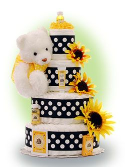 Sunflower Baby Shower Theme on Baby Shower Ideas  And 3rd Trimester Pregnancy Tips   Lil  Baby Cakes