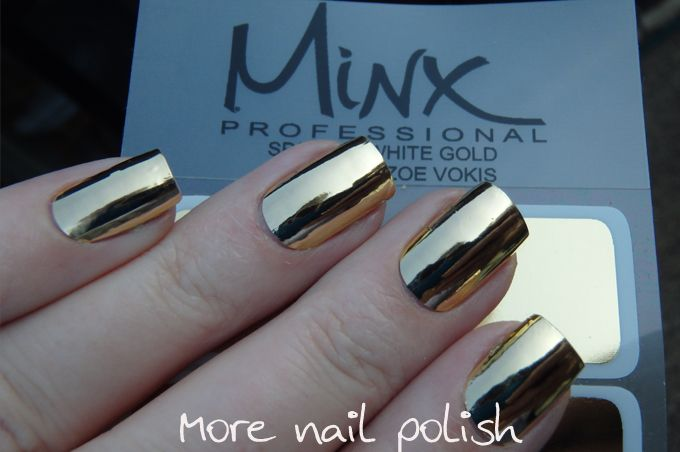 31DC2015 - Metallic - Minx Nails ~ More Nail Polish