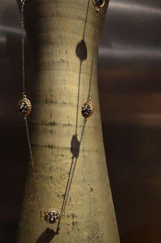 "www.tresorsdeluxe.com Our ""Simone~Deux"" Maltese Cross Necklace $42!  Timeless and elegant!Luxury, Crosses Necklaces, Pendants Necklaces, Crosses Pendants, Necklaces 42, Trésor De, Tresor De, Gunmetal Necklaces, Guns Metals"