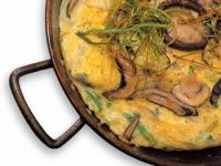 Tortilla de hongos